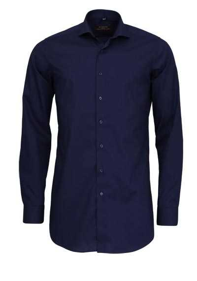 ETERNA Slim Fit Hemd super langer Arm New Kent Stretch navy - Hemden Meister