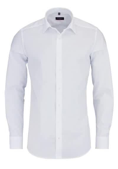 ETERNA Slim Fit Hemd Langarm New Kent Stretch weiß - Hemden Meister