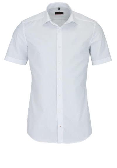 ETERNA Slim Fit Hemd Halbarm Basic Kent Kragen weiß - Hemden Meister