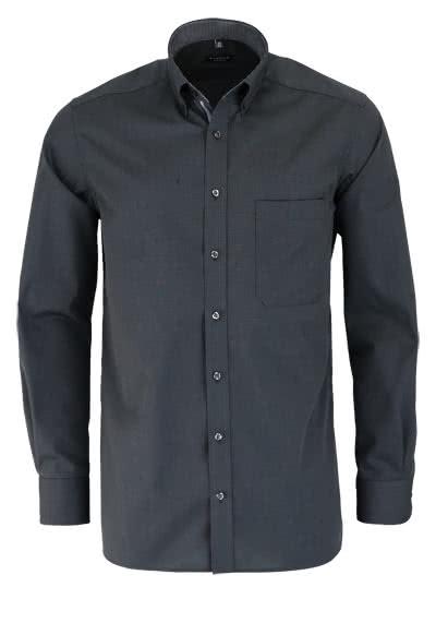 ETERNA Comfort Fit Hemd extra langer Arm anthrazit - Hemden Meister