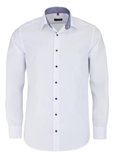 ETERNA Modern Fit Hemd Langarm New Kent Kragen weiß - Hemden Meister