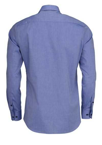 ETERNA Slim Fit Hemd super langer Arm Stretch himmelblau