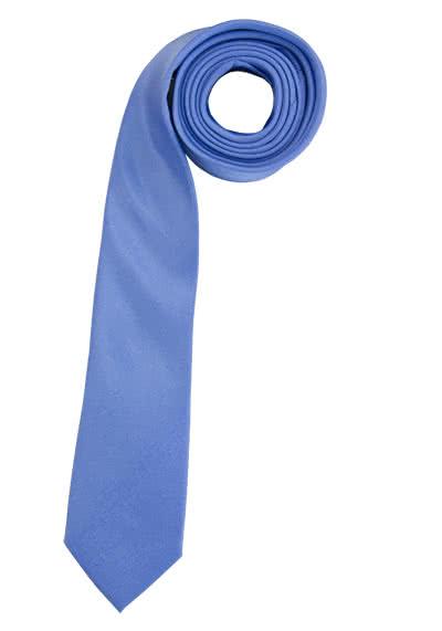 ETERNA Krawatte aus reiner Seide 6,0 cm breit hellblau - Hemden Meister