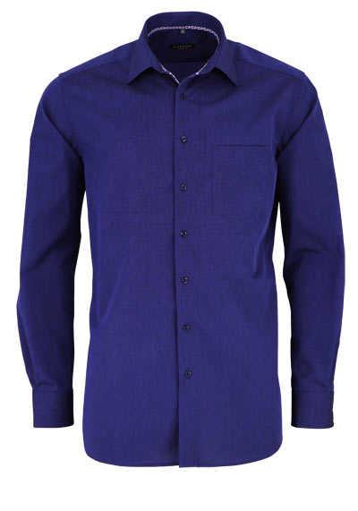 ETERNA Modern Fit Hemd extra langer Arm New Kent Kragen navy - Hemden Meister