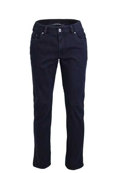EUREX by BRAX Comfort Fit Jeans LUKE Used 5 Pocket nachtblau preisreduziert