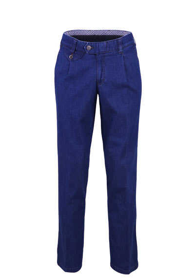 EUREX by BRAX Straight Jeans FRED 321 5 Pocket mittelblau