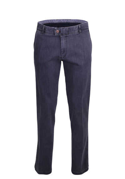 EUREX by Brax Straight Jeans JIM 316 5 Pocket Stretch grau preisreduziert