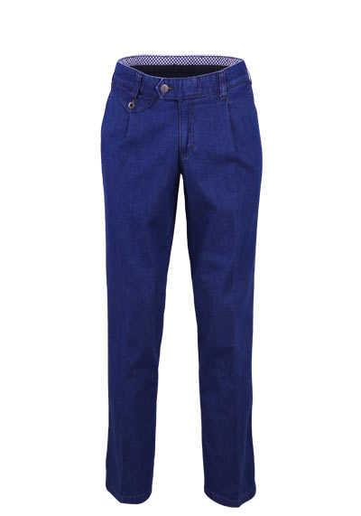 EUREX by BRAX Straight Jeans FRED 321 5 Pocket mittelblau - Hemden Meister