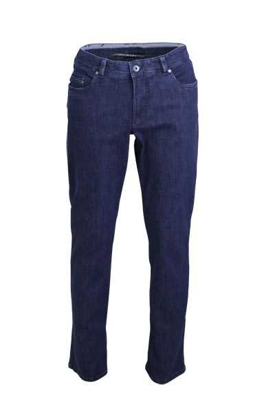 EUREX by BRAX Comfort Fit Jeans LUKE Used 5 Pocket dunkelblau - Hemden Meister