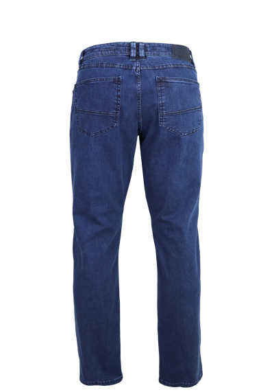 EUREX by BRAX Comfort Fit Jeans LUKE_S 5 Pocket Used mittelblau