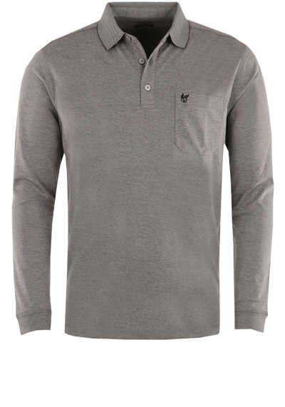 grau Gr Attraktives Polo-Shirt  NORD von LEGEA Langarm M.-XL,Restbestände,