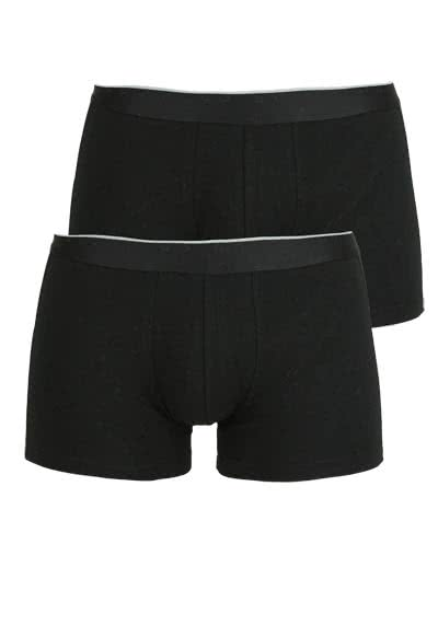 BOSS Boxershorts Doppelpack schwarz - Hemden Meister