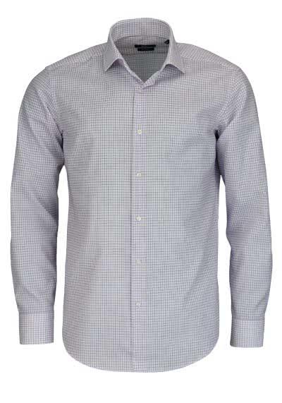 BOSS BUSINESS Regular Fit Hemd extra langer Arm GORDON Karo rosa - Hemden Meister
