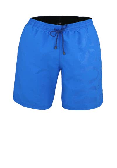 BOSS Herren Badeshorts mit Logowebung blau - Hemden Meister