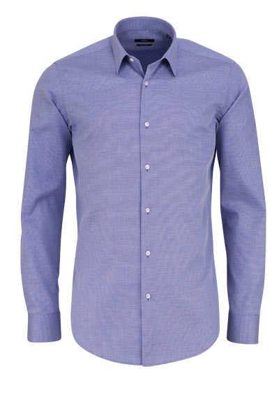 BOSS Regular Fit Hemd ELIOTT extra langer Arm dunkelblau - Hemden Meister