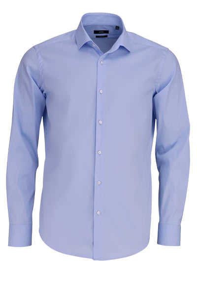 BOSS Regular Fit Hemd GORDON extra langer Arm hellblau - Hemden Meister