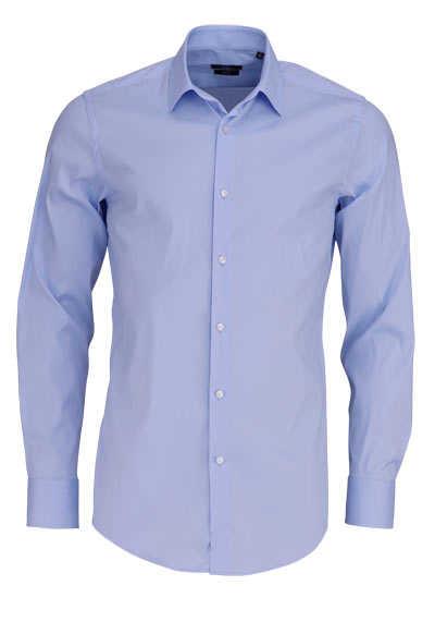 BOSS BUSINESS Slim Fit Hemd JENNO Langarm Stretch hellblau - Hemden Meister