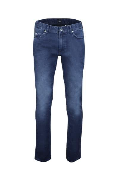 BOSS Slim Fit Jeans DELAWARE3 Stretch dunkelblau - Hemden Meister