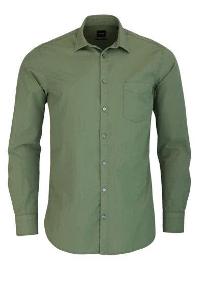 ... Orange Hemd Slim Fit. BOSS Langarm Hemd CATTITUDE New Kent Brusttasche  oliv - Hemden Meister 17330e79bf