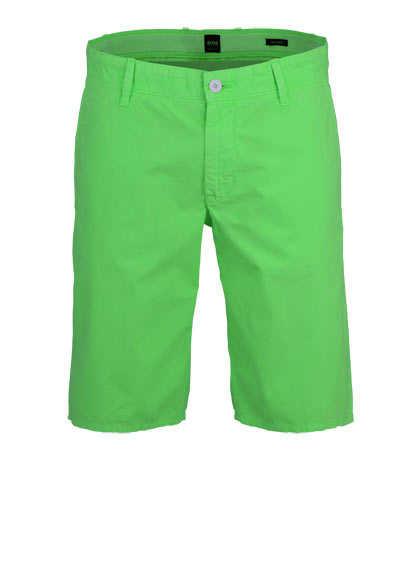 BOSS Comfort Fit Shorts SCHINO-REGULAR Taschen hellgrün - Hemden Meister