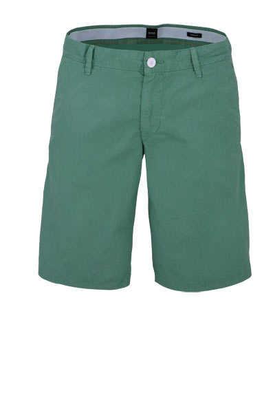 BOSS Comfort Fit Shorts SCHINO-REGULAR Taschen mittelgrün - Hemden Meister