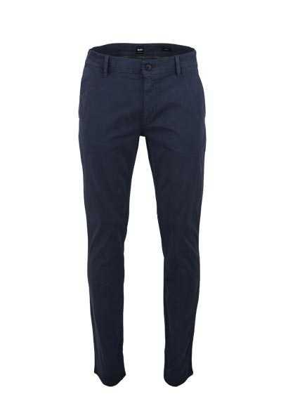 BOSS Slim Fit Hose SCHINO-SLIM Eingrifftaschen dunkelblau - Hemden Meister