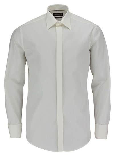 JACQUES BRITT Brown Label Galahemd KEN Langarm Popeline beige - Hemden Meister