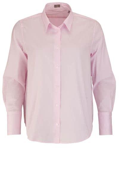 JACQUES BRITT Bluse Langarm Hemdkragen rosa - Hemden Meister