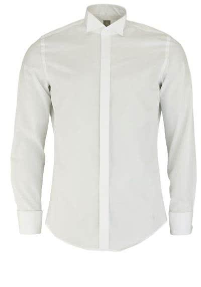 JACQUES BRITT Custom Fit Galahemd Langarm beige - Hemden Meister
