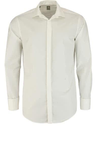 JACQUES BRITT Custom Fit Galahemd Langarm New Kent beige - Hemden Meister