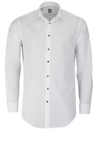 JACQUES BRITT Custom Fit Galahemd Langarm New Kent weiß - Hemden Meister