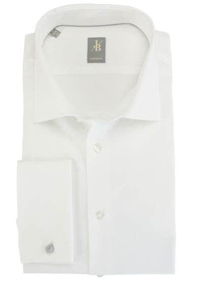 JACQUES BRITT Custom Fit Galahemd Langarm New Kent Kragen beige - Hemden Meister