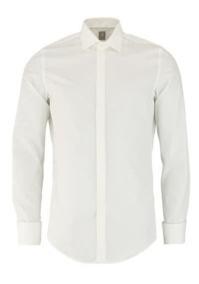 JACQUES BRITT Slim Fit Galahemd Langarm New Kent beige - Hemden Meister