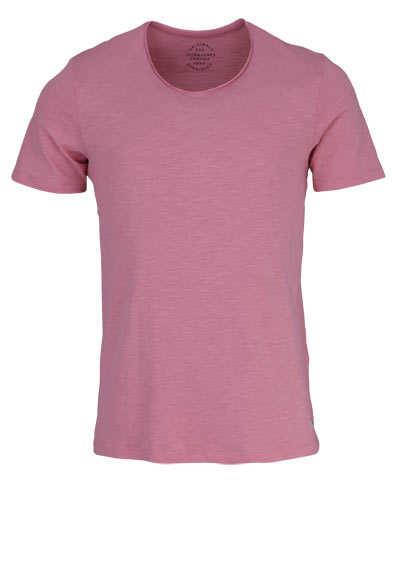 JACK&JONES Halbarm T-Shirt ROSETTE V-Auschnitt hellrosa - Hemden Meister