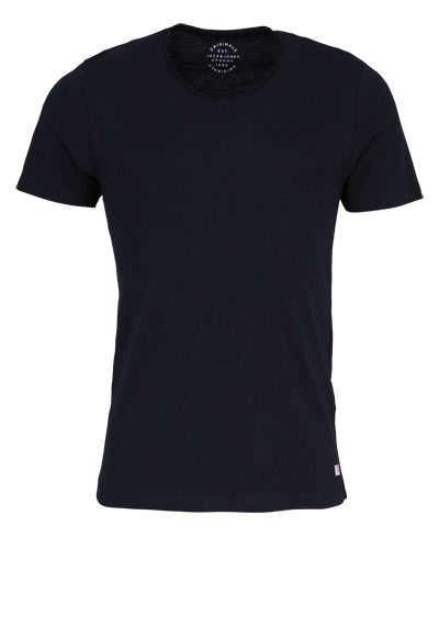 JACK&JONES Halbarm T-Shirt TAP SHOE V-Auschnitt schwarz - Hemden Meister