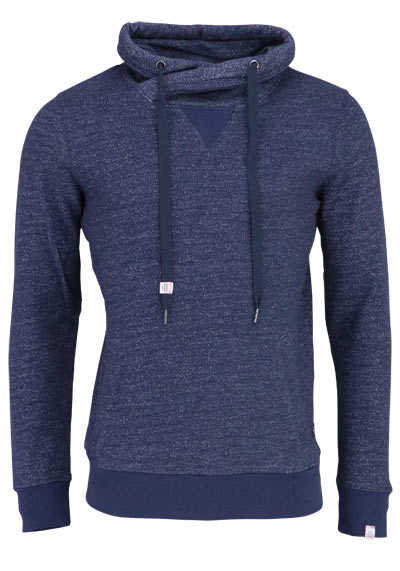 JACK&JONES Langarm Sweatshirt TOTAL ECLIPSE Stehkragen nachtblau - Hemden Meister