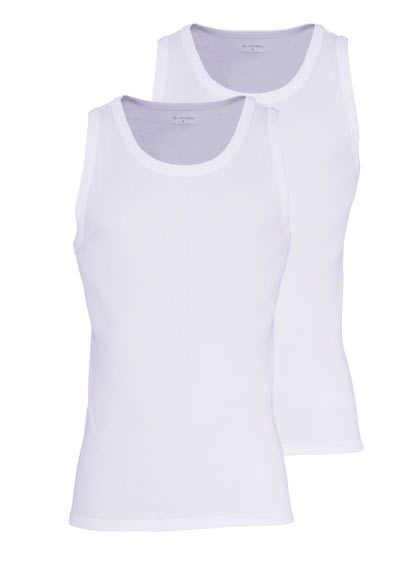 JOCKEY Modern Classic Athletic Shirt Doppelpack weiß - Hemden Meister