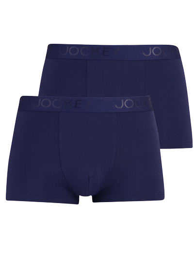 JOCKEY Short Trunk Boxershorts Mikrofaser Doppelpack nachtblau - Hemden Meister