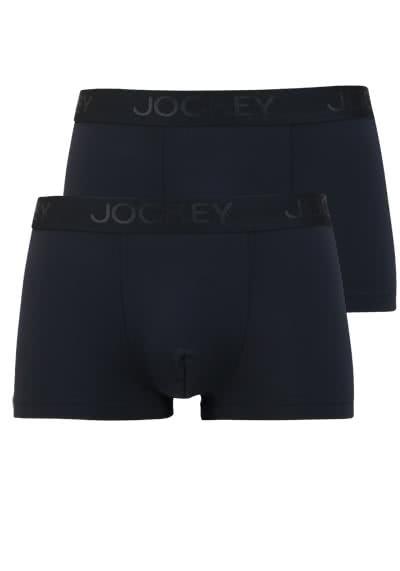 JOCKEY Short Trunk Boxershorts Mikrofaser Doppelpack schwarz - Hemden Meister