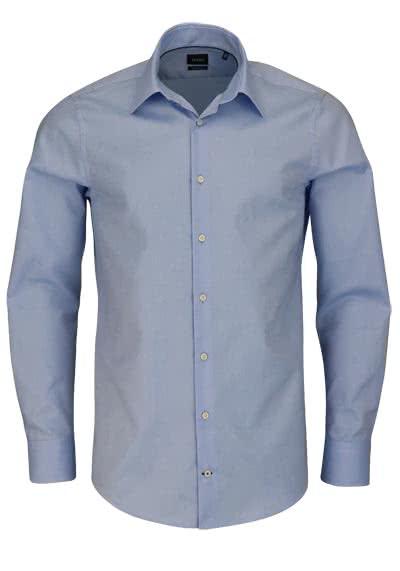 JOOP Modern Fit Hemd MARTELLO Langarm Struktur hellblau - Hemden Meister