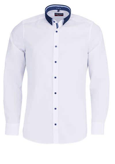 marvelis body fit hemd extra langer arm new kent kragen wei. Black Bedroom Furniture Sets. Home Design Ideas
