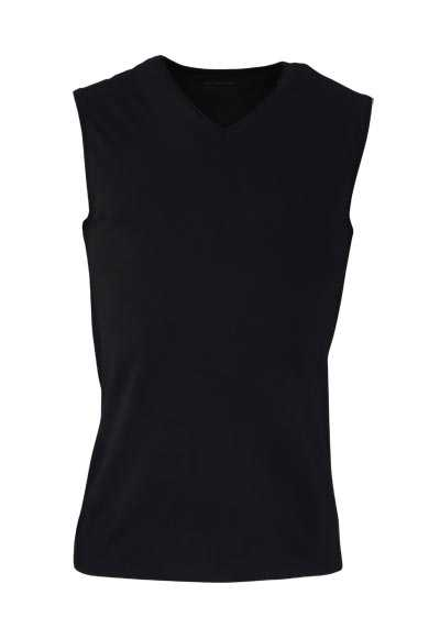 MEY COOLMAX ärmelloses Muscle Shirt Dry Cotton schwarz