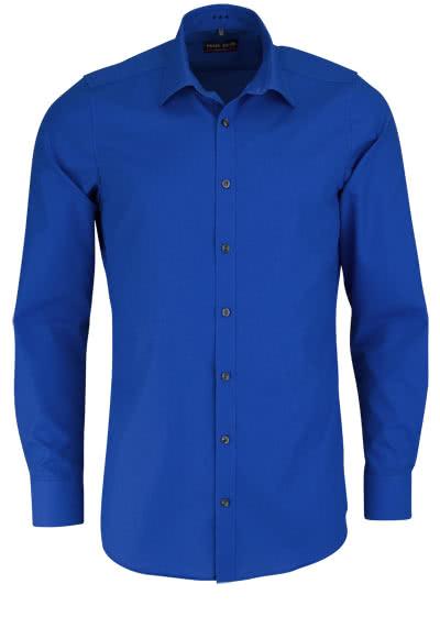 MARVELIS Body Fit Hemd Langarm New Kent Kragen royalblau - Hemden Meister
