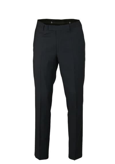 OTTO KERN Herrenhose MEMPHIS mit Taschen Bügelfalte schwarz - Hemden Meister