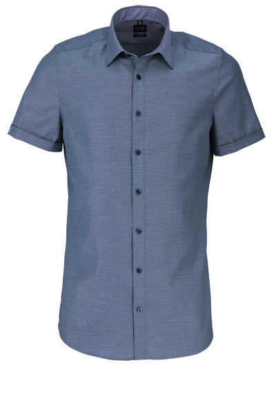 OLYMP Level Five body fit Hemd Halbarm Struktur mint - Hemden Meister