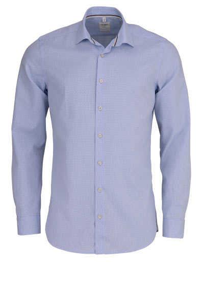 OLYMP Level Five Smart Business body fit Hemd extra langer Arm hellblau - Hemden Meister
