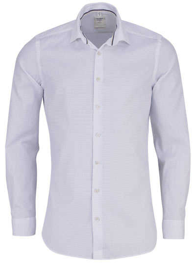 OLYMP Level Five Smart Business body fit Hemd extra langer Arm weiß - Hemden Meister