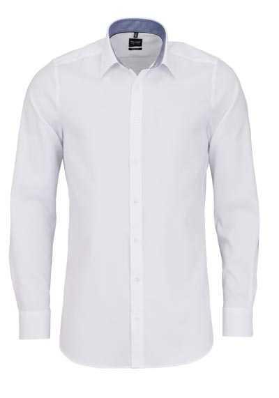 OLYMP Level Five body fit Hemd extra langer Arm weiß - Hemden Meister