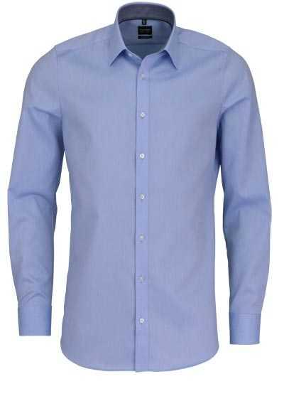OLYMP Level Five body fit Hemd extra langer Arm hellblau - Hemden Meister