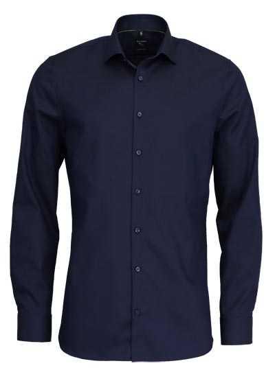 OLYMP No. Six super slim Hemd extra langer Arm navy - Hemden Meister